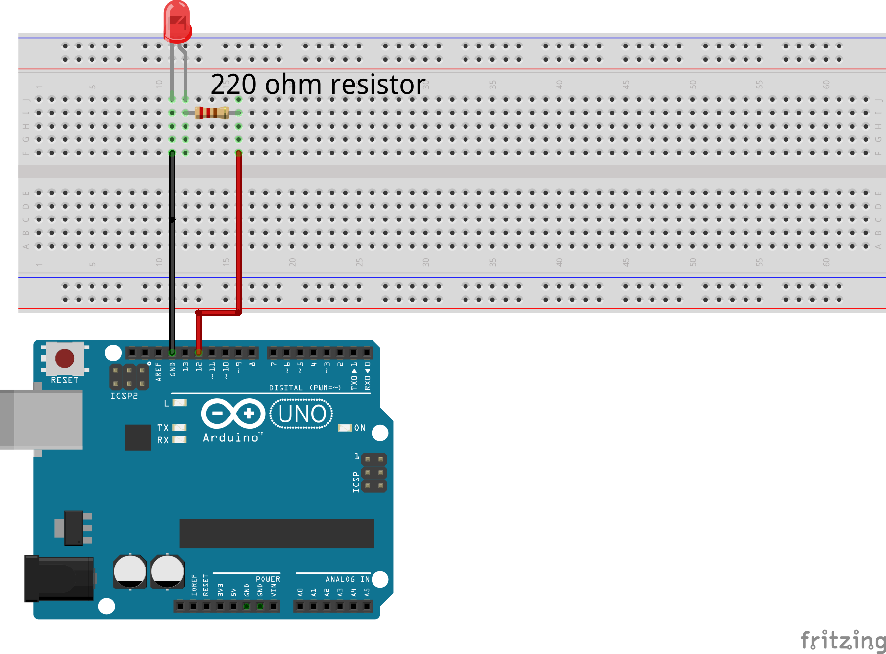 Morse encoder build by Arduino